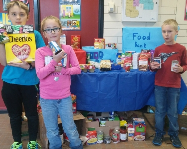 SBR ISP food bank