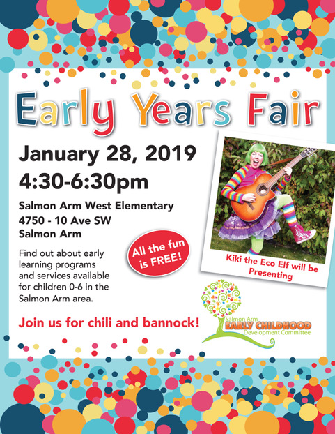 SA Early Years Fair 2019_poster